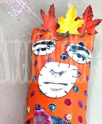 Frida Art Goddess Art Doll