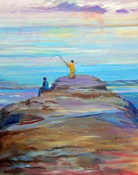 LMcCaskill Winter Fishing acrylic.jpg