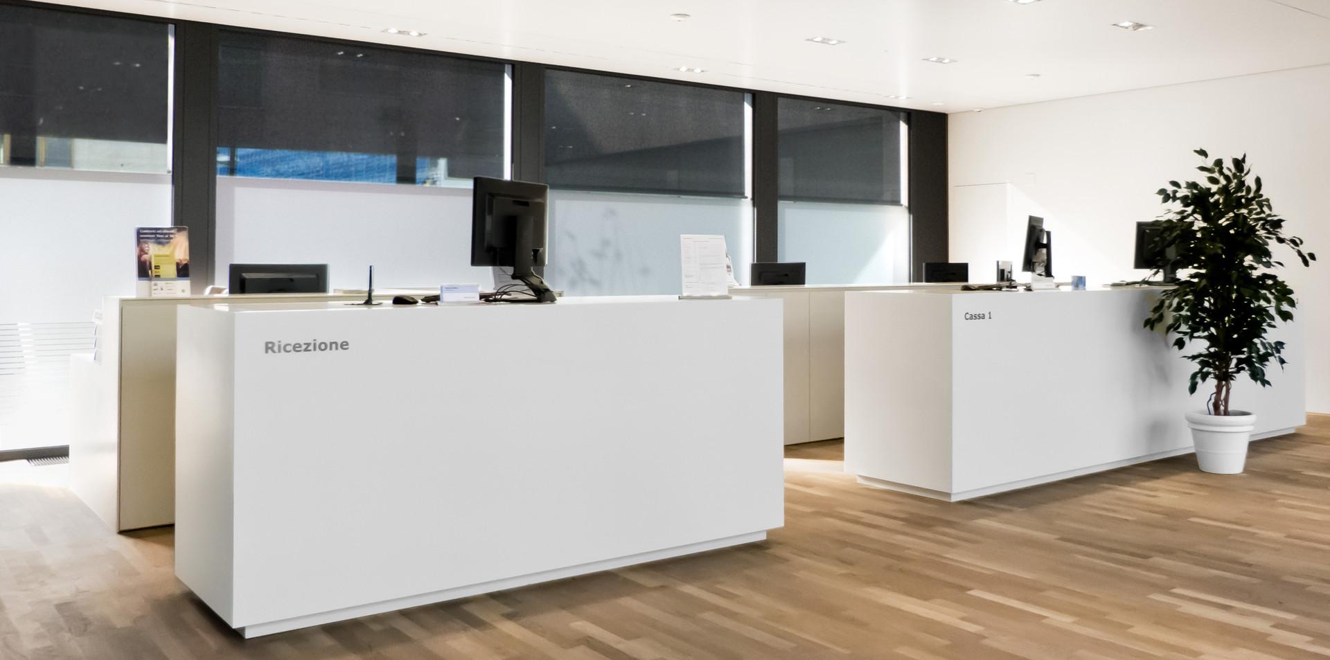 Arredamento per uffici e banche