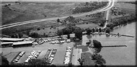 The 96A relocation bypassed Boody's Hill Road in the early 1960's, thus providing better access to the club's lands bordered by the railroad and the highway.