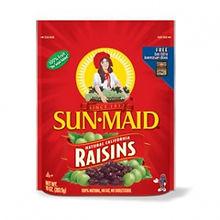 SUNMAID USA RAISINS - ZIPPER BAG 283.5G.