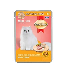 SMART HEART CAT POUCH - CHICKEN WITH RIC