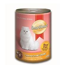 SMART HEART CAT CAN - TUNA & VHUNKY SARD