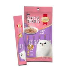 SMART HEART CAT CREAMY TREATS - SQUID 15