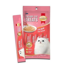 SMART HEART CAT CREAMY TREATS - SALMON 1