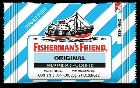FISHERMAN'S FRIEND ORIGINAL SUGAR FREE.p