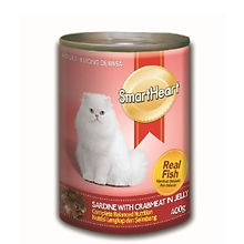 SMART HEART CAT CAN - SARDINE WITH CRABM