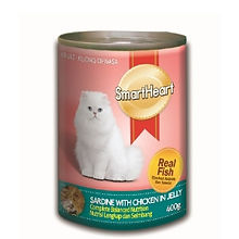 SMART HEART CAT CAN - SARDINE WITH CHICK