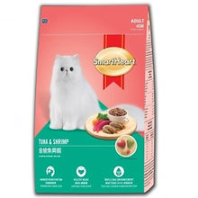 SMART HEART CAT FOOD - TUNA & SHRIMP 7KG