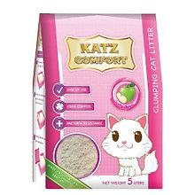 KATZ COMFORT CAT LITTER - APPLE 5LT X 4.