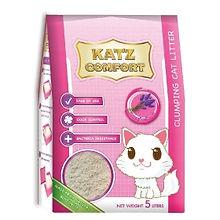 KATZ COMFORT CAT LITTER - LAVENDER 5LT X