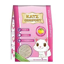 KATZ COMFORT CAT LITTER - LEMON 5LT X 4.