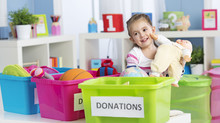 Help kids learn the art of decluttering