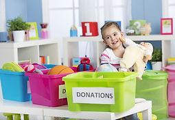 Host donaton bins