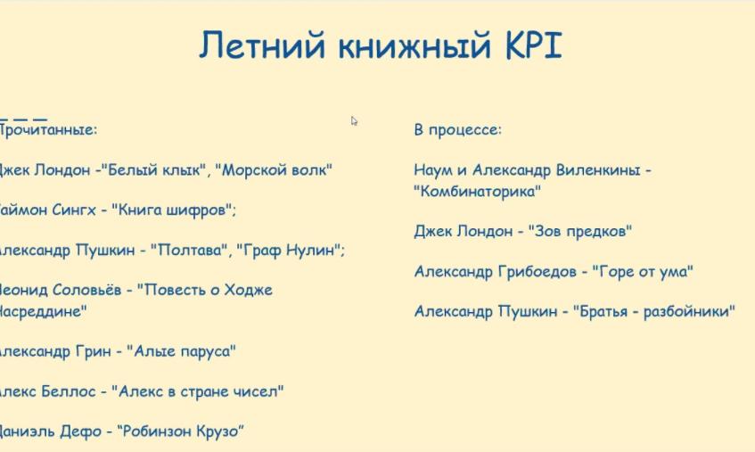книжный kpi
