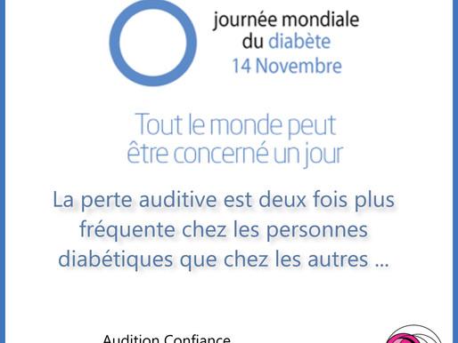 Jeudi 14 novembre 2019 : journée mondiale du diabète
