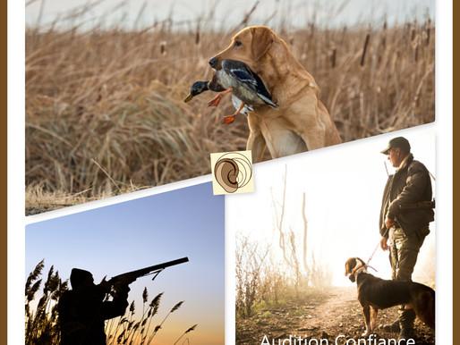 Bientôt l'ouverture de la chasse ... pensez aussi à protéger vos oreilles !