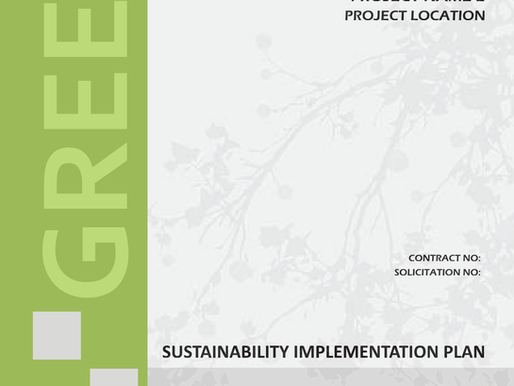 Sustainability Implementation Plan