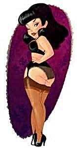 Miss Jaddah Cartoon
