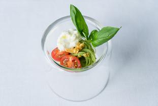 沖縄県産 オーガニックバジルとトマトの冷製カッペリーニ