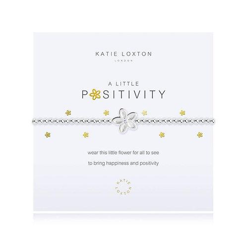 A Little Positivity Bracelet by Katie Loxton