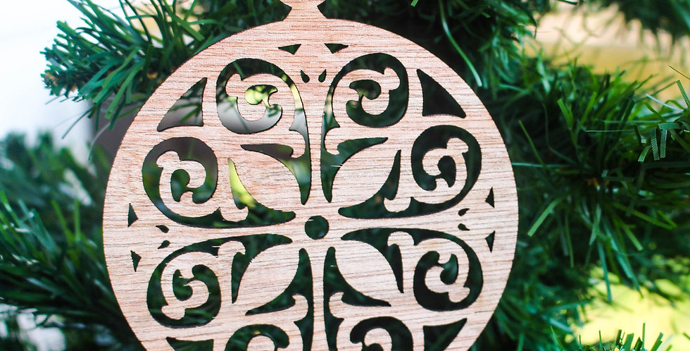 Comfort Circle Ornament