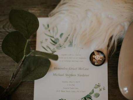 Blush Bridal Spotlight: Allie McCaw-Niederer