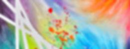 Peinture acrylique abstraite, art abstrait