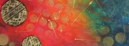 Peintre acrylique abstraite, art abstrait