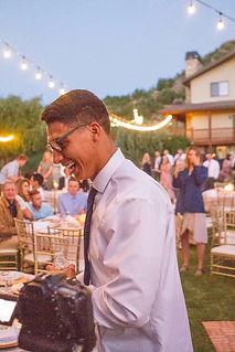 Heber wedding reception