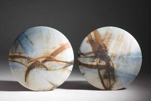 'Desert Sands' Wall Discs 2012
