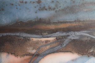 'Reflections' Wall Disc 2012 Detail