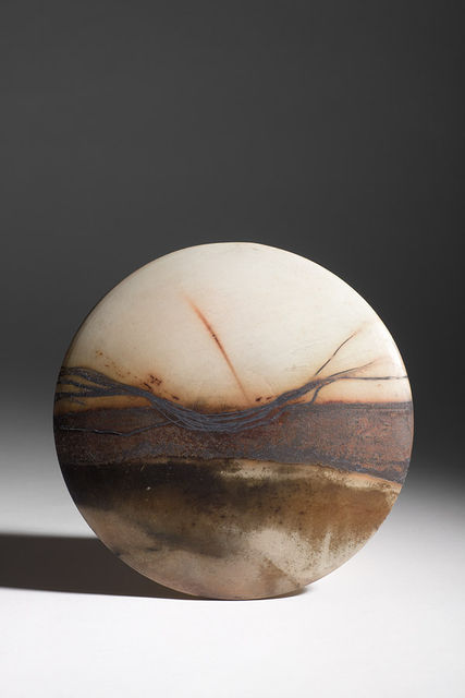 'Lough Ihne Sunset' Wall Disc 2012
