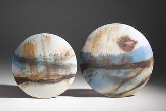 'Full Moon' Wall Discs 2012