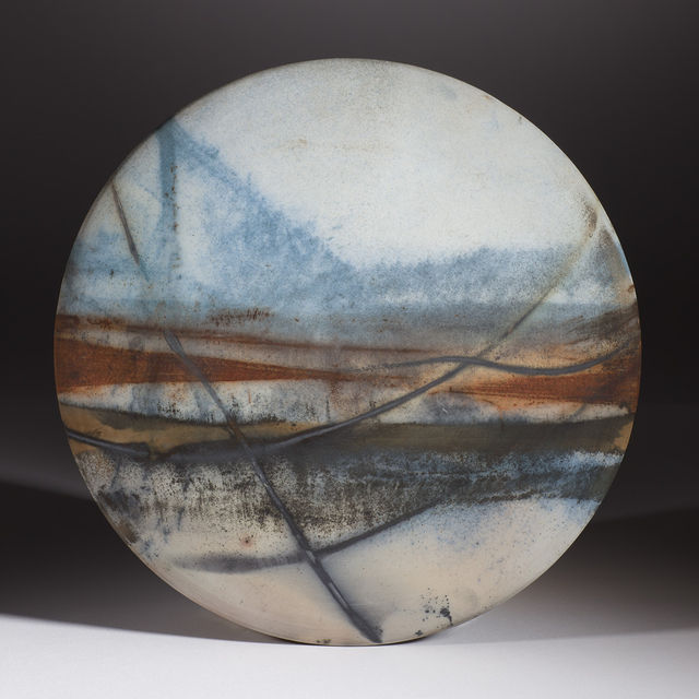 'Double Line Sweep' Wall Disc 2014