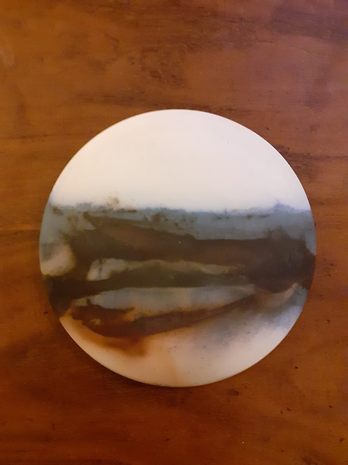 SOLD 'Seaside Tide' Wall Disc