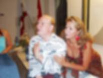 Con Giuseppe Giacomini dopo Pagliacci al