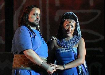 Aida alle Terme di Caracalla con Franco