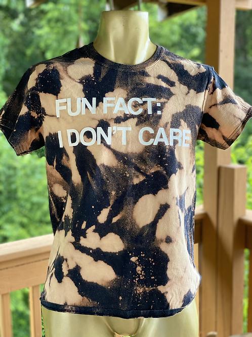 Fun Fact tee (S)