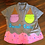 """Thumbnail: """"Sweet Chic"""" hand painted top"""