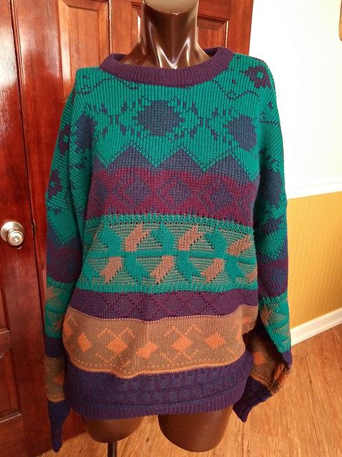 Cozy vintage sweater (XL)