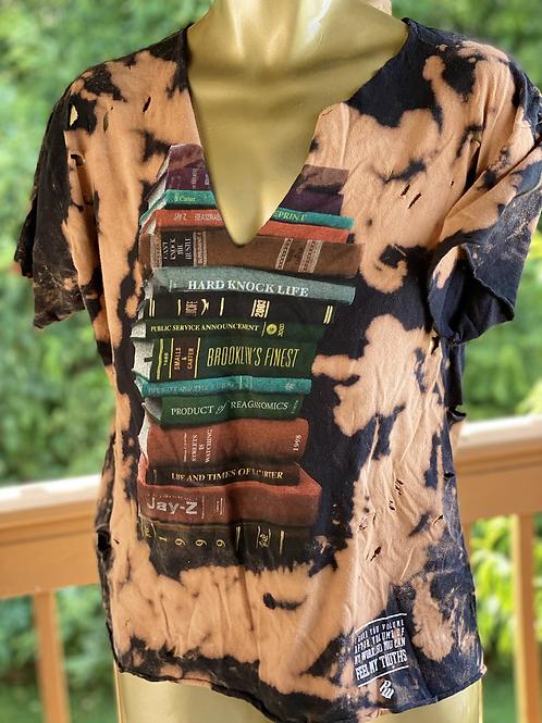Vintage Distressed Rocawear tee (L)