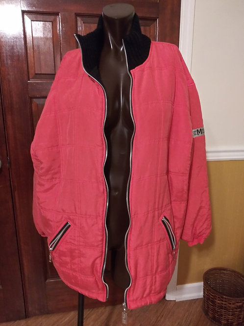 Dope A$$ Vintage Silk Puffer winter coat (L)