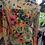 Thumbnail: Vintage floral print blouse (M)