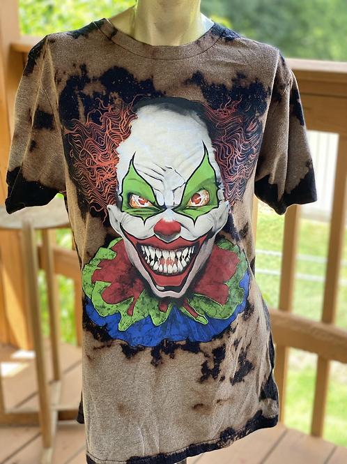 Scary Clown tee (S)