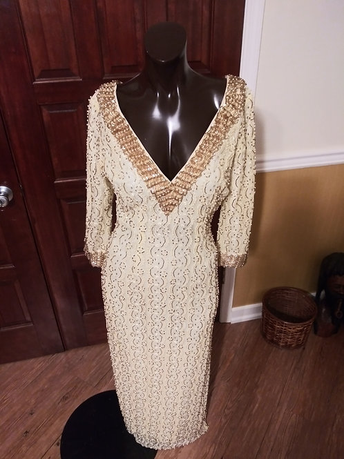 Glamorous vintage dress *Size Small/Click below for measurements