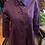 Thumbnail: Vintage purple peacoat (M)