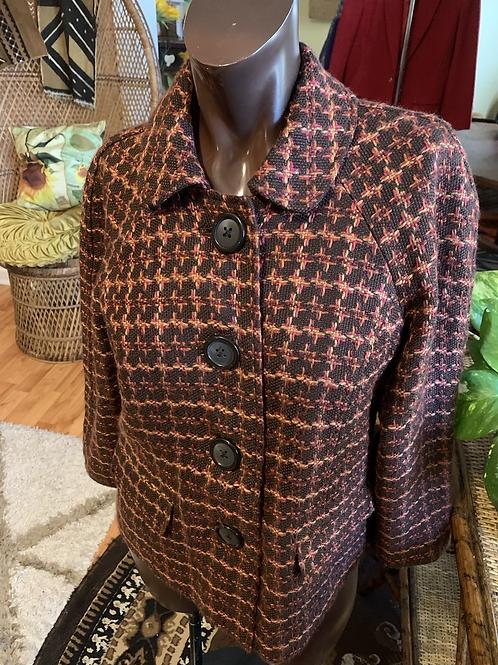 Vintage pea coat (M)