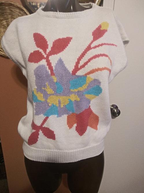 Vintage floral knit (L)
