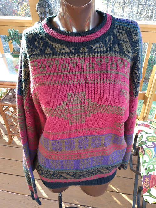 Vintage oversized Cosby sweater (L-XL)